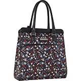 Nine West Ninewest Women's Packmeup Travel Tote, Black Multi Floral Print, One Size