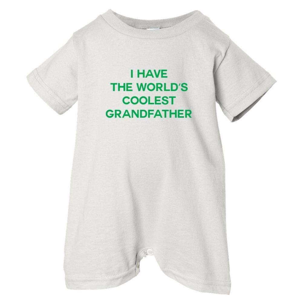 So Relative Unisex Baby I Have The Worlds Coolest Grandfather T-Shirt Romper