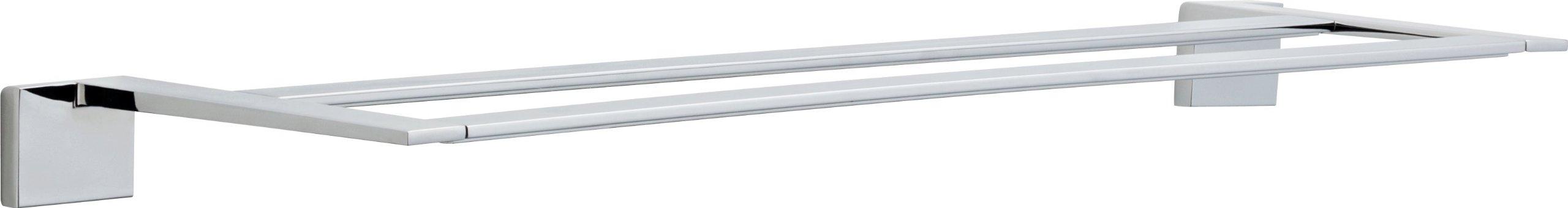 Delta Faucet 77725 Vero 24'' Double Towel Bar, Polished Chrome by DELTA FAUCET