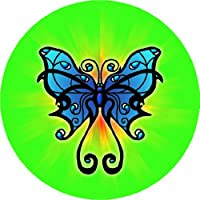 Licenses Products Butterfly Blue Magnet