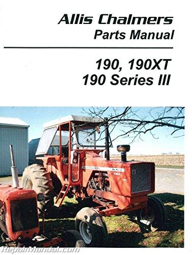 Parts Manual - AC-P-190XT Allis Chalmers 190 190 190XT 190XT