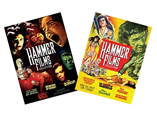 Ultimate Hammer Horror Film 11-Movie DVD Collection: The Two Faces of Dr. Jekyll/Scream of Fear/The Gorgon/Stop Before I Kill/Curse of the Mummy's Tomb/Creatures the World Forgot/The Revenge of Franke -