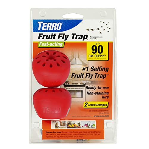 TERRO Fruit Fly Trap - 2 Pack T2502 ()