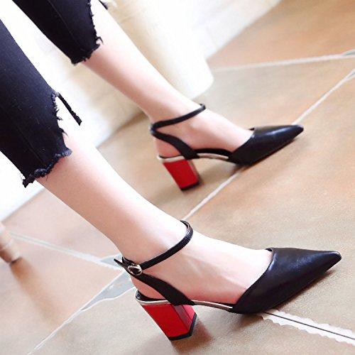 le Onorevoli square piedi tacchi palle e di caviglia sandali a dita scarpe alti dei nozze YMFIE scarpe qzBx5wSdq