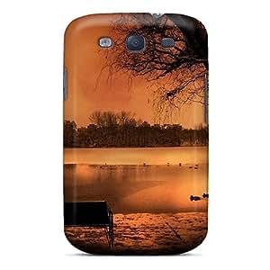 Premium Tpu Park Cover Skin For Galaxy S3
