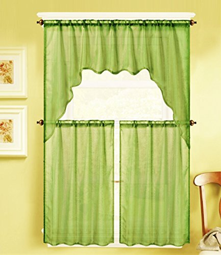 Lime Green Kitchen Curtains Best Lime Green Kitchen