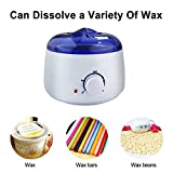 Portable Electric Hair Removal Hot Waxing Kit,mini Pro Waxing Kit,student Starter Kit,warmer Salon Spa Beauty Equipment for Hard Strip Waxing ,For Girls ,Women and Men