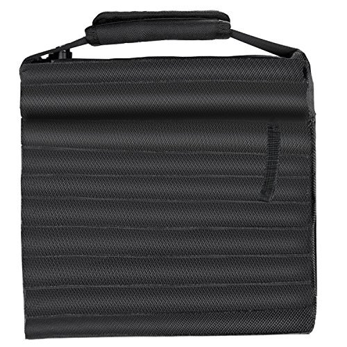 Neewer Heavy Duty Photographic Sand Bag Studio Video Stage Film Sandbag Saddlebag for Light Stands Boom Arms Tripods, Load Capacity 20 pounds/9.1 kilograms (Black) by Neewer