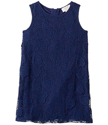 Kate Spade New York Kids Baby Girl's Lace Dress (Toddler/Little Kids) New Navy 5