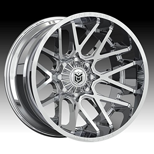 Dropstars 654V Deep Concave 20×10 6×135/6×139.7 -25mm PVD Chrome Wheel Rim