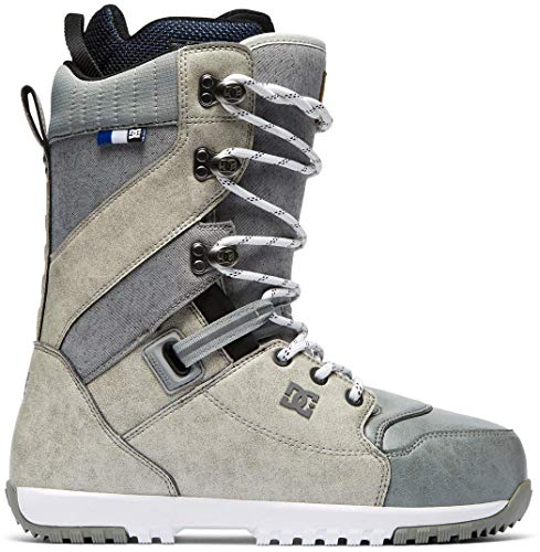 DC Mutiny Snowboard Boots Silver Birch Mens Sz 13 (Dc Snowboarding Boots)