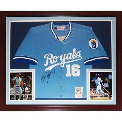 timeless design 8e652 8a936 Bo Jackson Autographed Signed Auto Kansas City Royals Baby ...