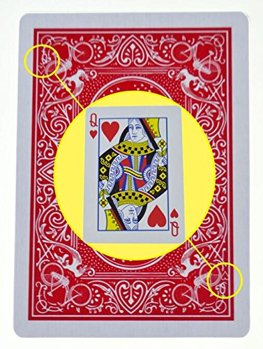 Price comparison product image DeemoShop Marked Stripper Deck Playing Cards Poker Magic Tricks Close Up Street Illusion Gimmick Props Mentalism Kid Child Puzzle Toy