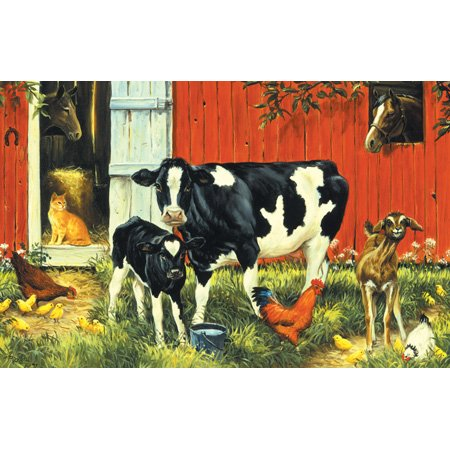 - SunsOut Down on the Farm 100 pc Jigsaw Puzzle