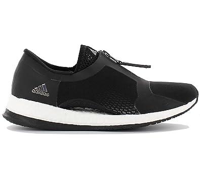 adidas - Pureboost X TR Zip Trainingsschuh (schwarz/weiß ...