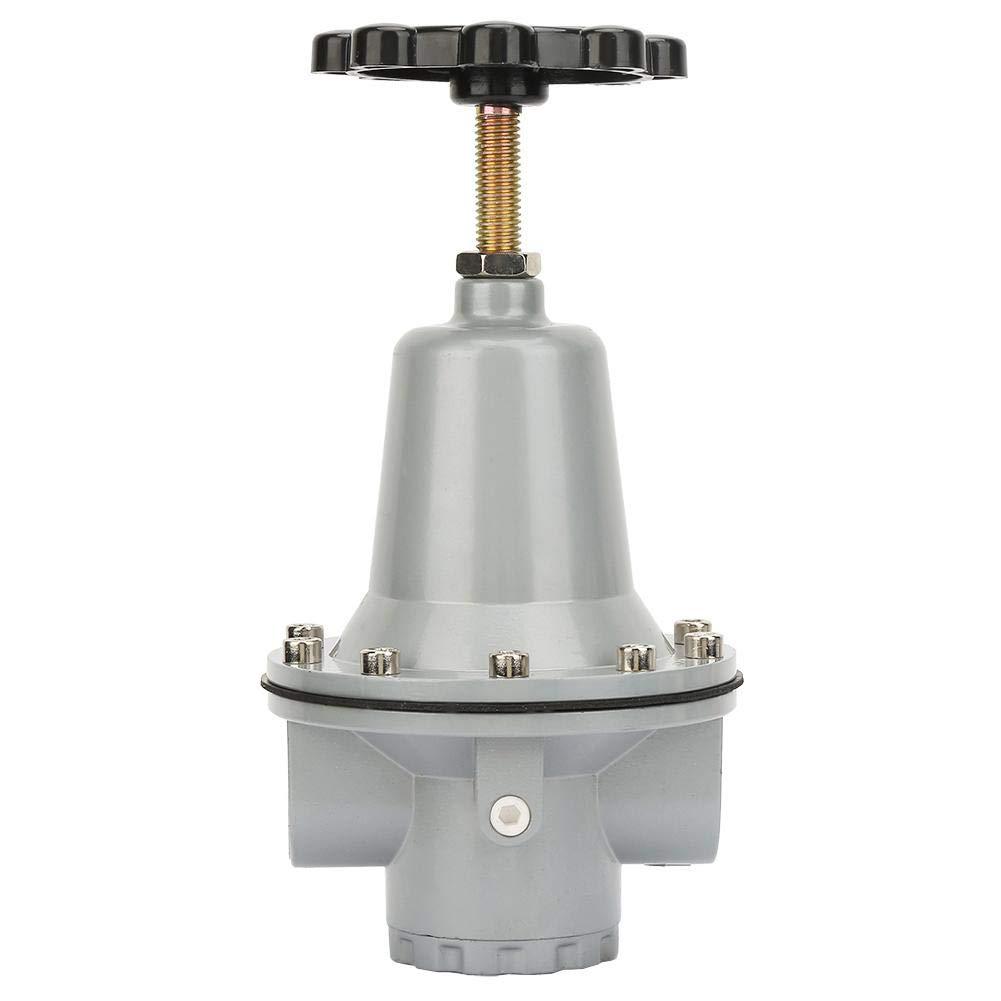 QTY-25 Pressure Regulator Valve G3//4 Air Compressor Pressure Reducing Valve Pneumatic Flow Air Pressure Regulating Valve