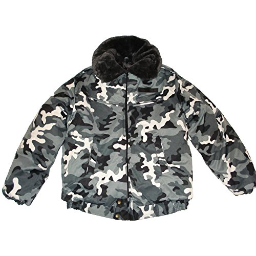 Modern Russian Military Winter Camo Jacket Uniform Snow A...