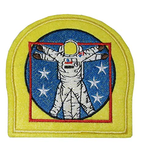 TENNER LONDON NASA EVA Embroidery Patch Iron on or Sew on Embroidered Motif Transfer Applique Space Walk Shuttle