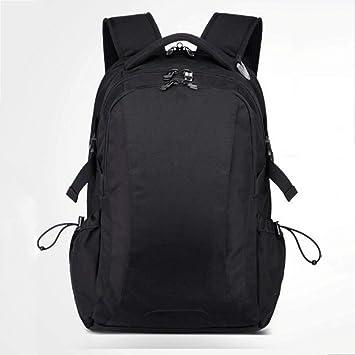 mochila Suiza Viaje de Negocios Informal Computadora de Gran Capacidad (Negro): Amazon.es: Hogar