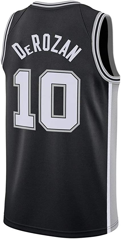 Basketball Swingman Jersey Vest Suitable for DeRozan 10 from Spurs Basketball Jersey Mens Sleeveless T-Shirt