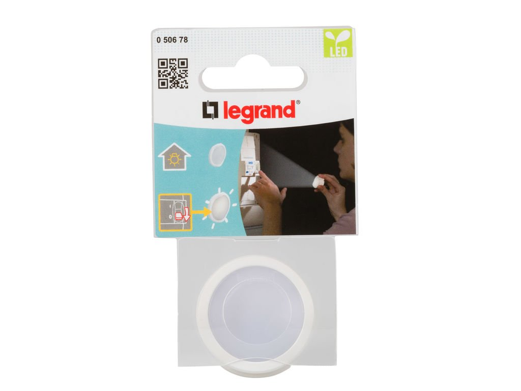 Legrand, linterna enchufe pared, luz LED, Blanco: Amazon.es: Industria, empresas y ciencia