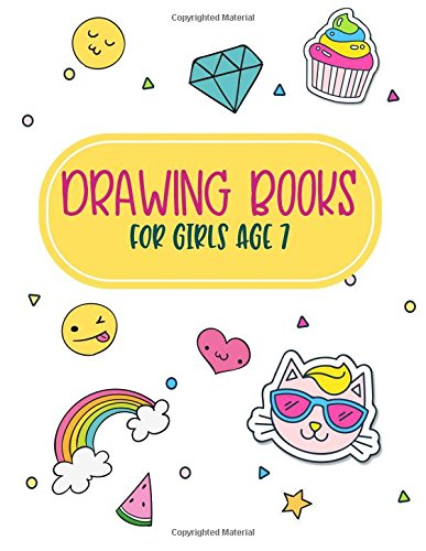 Drawing Books For Girls Age 7: Graph Paper Notebook, 8.5 x 11, 120 Grid Lined Pages (1/4 Inch Squares)