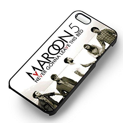 Maroon Never Gonna Leave pour Coque Iphone 6 et Coque Iphone 6s Case (Noir Boîtier en plastique dur) X7T9BZ