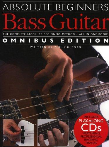 Absolute Beginners Bass Guitar Omnibus Edition (1&2) Book & 2Cd
