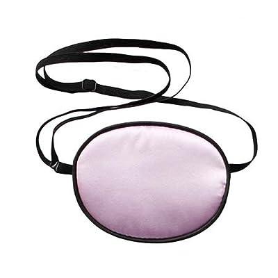 TININNA Eye Patch Soie Cache Oeil Adulte Protection pour Amblyopie Accessoire Masque Cache-oeil