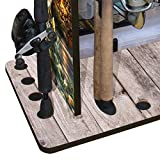 Rush Creek Creations 14 Fishing Rod Rack with 4