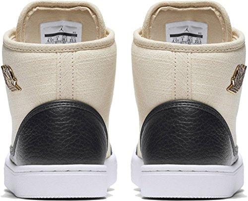Nike Jordan Jasmine Prem Hc Gg, Zapatillas de Baloncesto para Mujer Blanco (Blanco (Prl White / Mtllc Gld-Blk-Gym Rd))
