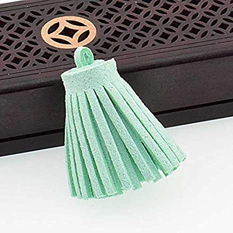 Laliva 3cm South Korea Velvet Tassels Suede Tassels for Boho