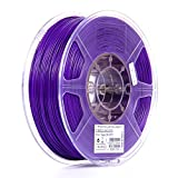 eSUN 1.75mm Purple PLA PRO (PLA+) 3D Printer Filament 1KG Spool (2.2lbs), Purple