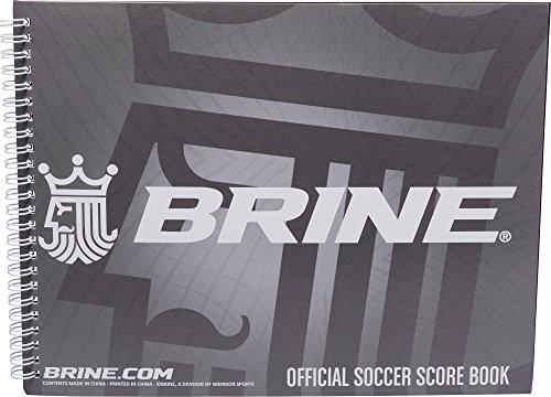 Brine Soccer Scorebook -