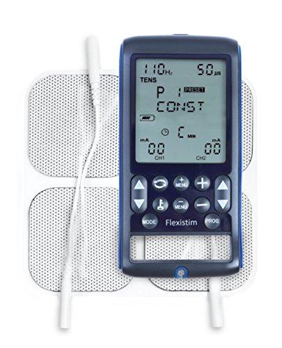 TensCare Flexistim – Electroestimulador Completo con 4 terapias: EMS, Tens, Ift y Microcorriente. Dispositivo pequeño…
