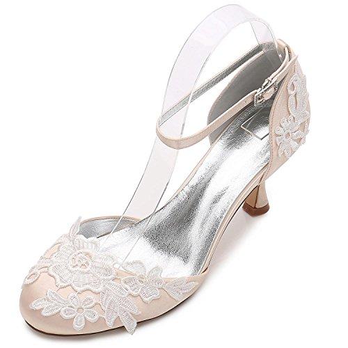 7 Zapatos Mujeres Boda de de de Tac Ramillete Honor YC Las L Flores de D17061 Dama de 85BRxqY