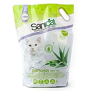 Diamantes Sanicat Aloe Vera Cat 5L camada