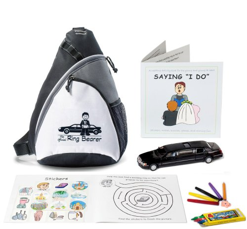 Ring Bearer Wedding Activity Backpack -