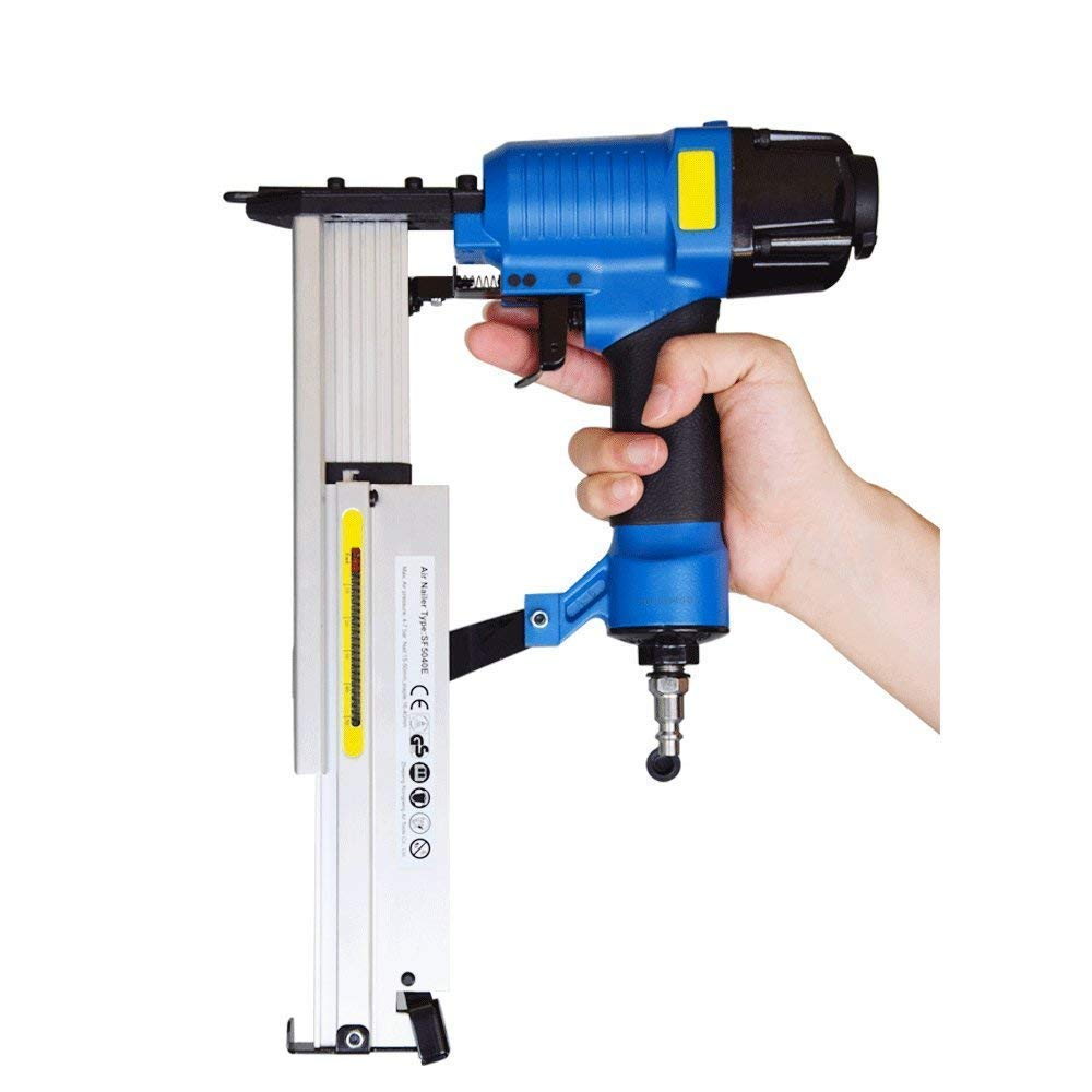 18 gauge brad nailer pneumatic stapler 2 in 1 with Carrying Case /& Safety Glasses