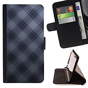 For LG G2 D800 Texture Checkered Style PU Leather Case Wallet Flip Stand Flap Closure Cover