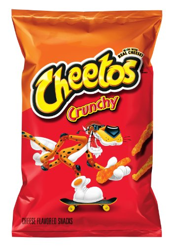 Cheetos Cheese Flavored Snacks, Crunchy, 9.5 Ounce (Pack of 4) (Calories In A Bag Of Hot Cheetos)
