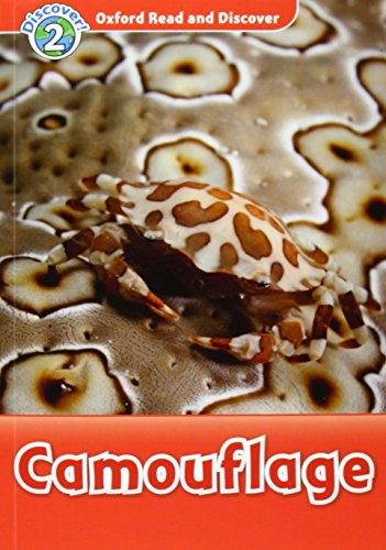 Oxford Read and Discover: Level 2: Camouflage Audio CD Pack