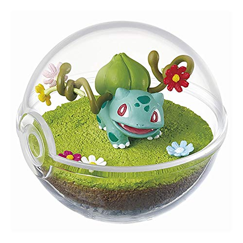 Re-Ment Pokemon Terrarium Collection Pokeball Diorama Figure 4. Bulbasaur (single) Shokugan Figure