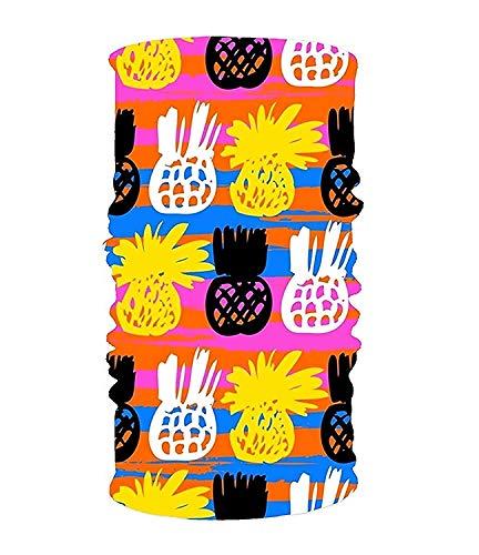 Ciuaole Headband Pineapple Tree Microfiber Polyester Multifunctional Seamless Headwear One -