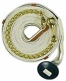 Centaur XL Cotton Web Lunge w/Chain - White - 35 Ft