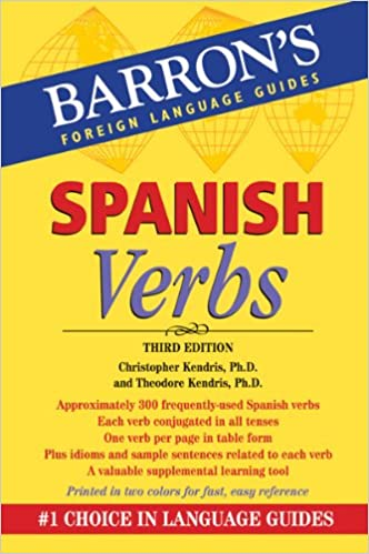 Spanish Verbs (Barron's Verb)