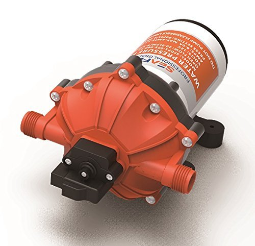 SEAFLO 12V 5.5 GPM 60 PSI Water Pressure Diaphragm Pump with NPT Fittings by SEAFLO