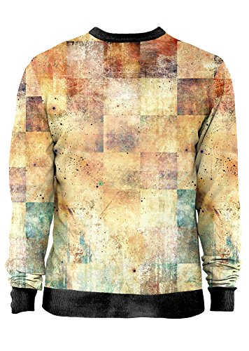 Blowhammer - Felpa Uomo - BLOWGUN - Grunge Rusty Astratta T-Shirt Sweatshirt Man