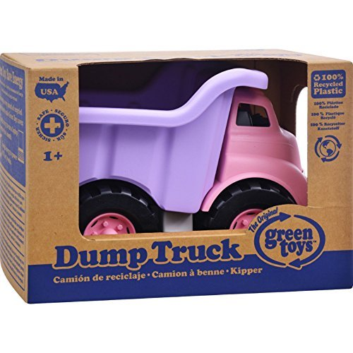 Green Toys Dump Truck - Pink Toys Christmas Gift -