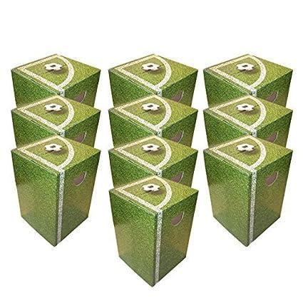 Taburete de madera de 10 x de cartón para jugar al fútbol de decoración de las